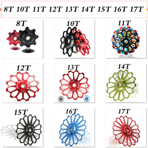 13T Ceramic Bearing Bike Rear Derailleur Alloy MTB Road Bike Pulley Jockey Wheel