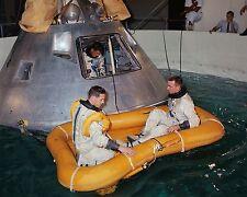 AB-677 STS-51L CHALLENGER CREW EMERGENCY EGRESS TRAINING 8X10 NASA PHOTO