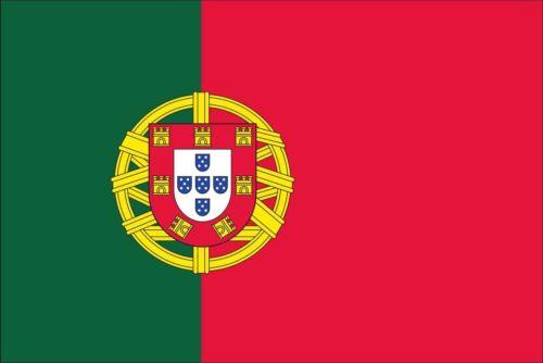 Flagge Portugal 110 g//m² ca 60 x 90 cm