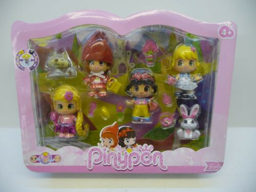 RARE-Pinypon Alice in Wonderland Red Riding Hood BLANCHE NEIGE Rapunzel Tales