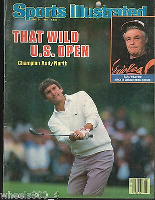 Sports Illustrated 1985 U.S. Open Champion Andy North Excellent No Label