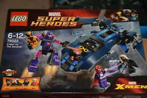 LEGO-76022-Marvel-Super-Heroes-X-Men-vs-The-Sentinel-Brand-NEW-amp-SEALED