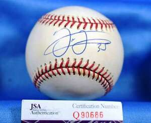 Frank-Thomas-Jsa-Cert-Hand-Signed-Major-League-Autograph-Baseball