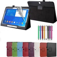 New Leather Smart Case Cover for Samsung Galaxy Tab 4 10.1 Inch T530/T535 Tablet