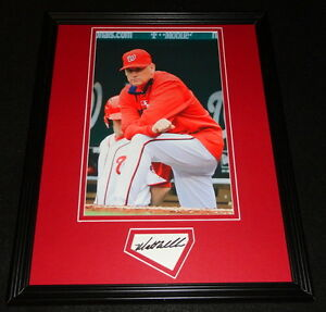 Matt-Williams-Signed-Framed-11x14-Photo-Poster-Display-Nationals