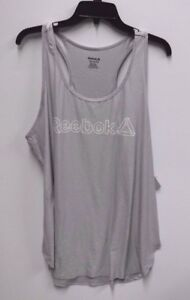 3179d433f3188 Reebok Womens Plus Size 1X Legend Singlet Slim Fit Athletic Tank Top ...