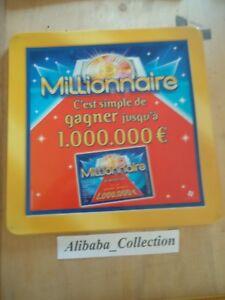 Publicidad-Recuperador-Moneda-Fdj-Francesa-de-Juegos-Ticket-Gatos-Millonario
