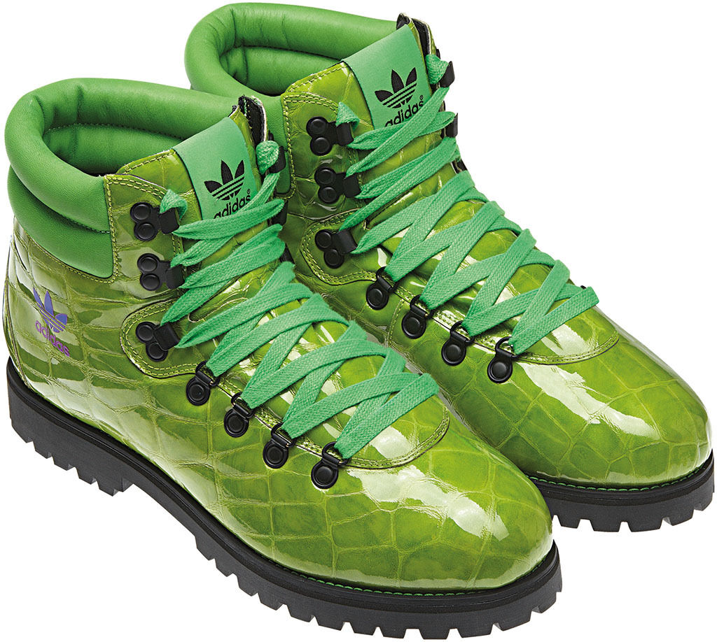 Adidas Men's Jeremy Scott  Hiking Boots Alligator print Comfortable