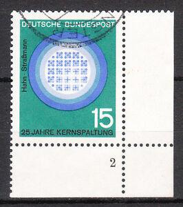 BRD 1964 Mi. Nr. 441 gestempelt Eckrand 4 Formnummer 2 LUXUS!!! (8925)