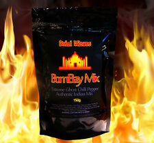 Ghost Pepper 8 x Bombay Mix. Very Hot Chilli Mixed Snack. Made with Naga Jolokia