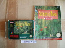ELDORADODUJEU >>> SECRET OF MANA + GUIDE Pour SUPER NINTENDO SNES PAL COMPLET