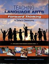 College Textbook~Teaching Language Arts in Today's Classroom C-2013~Paperback