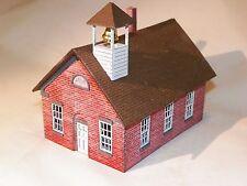 S Scale One Room Schoolhouse Kit