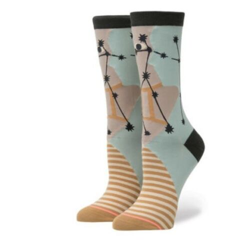 Stance Women/'s M 8-10.5 Gemini Zodiac Sign Collection Socks 200 Everyday Crew
