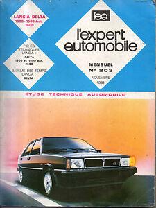 Distingué Rta Revue Technique Expert Automobile N° 203 Lancia Delta 1300 1500 1600