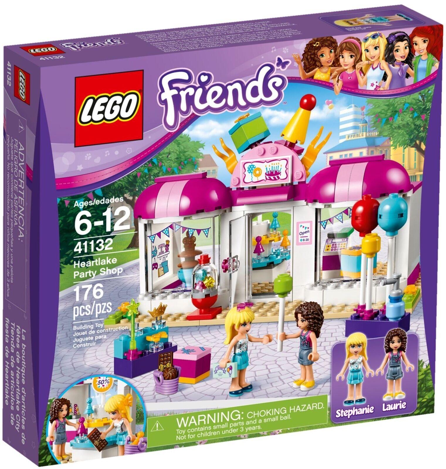 LEGO® Friends 41132 Heartlake Partyladen NEU OVP_ Heartlake Party Shop NEW MISB