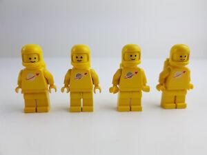 Bouwspellen Lego Weltraum 4 Gelbe Figuren Raumfahrer Astronaut