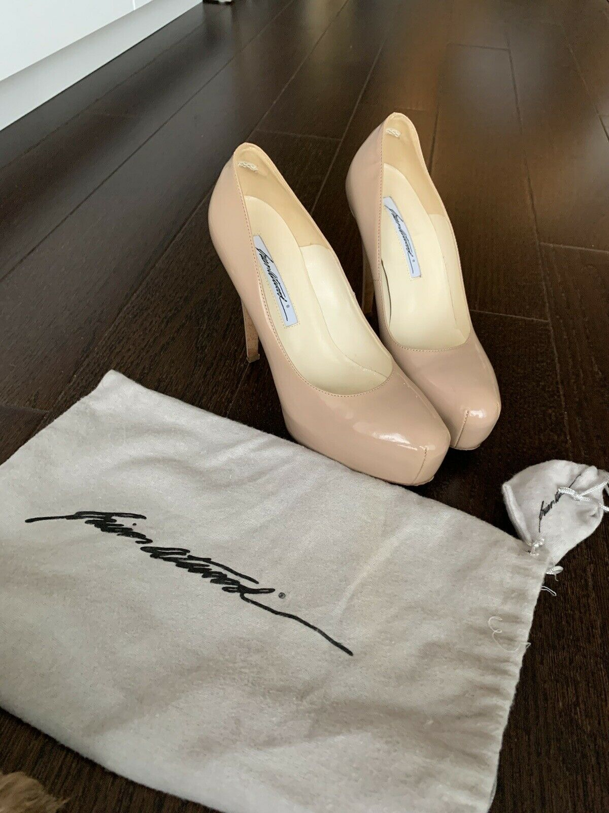 Brian Atwood Nude Pumps - image 4