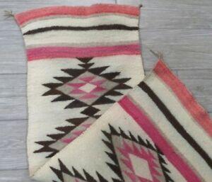 Antique Navajo Rug Blanket Native