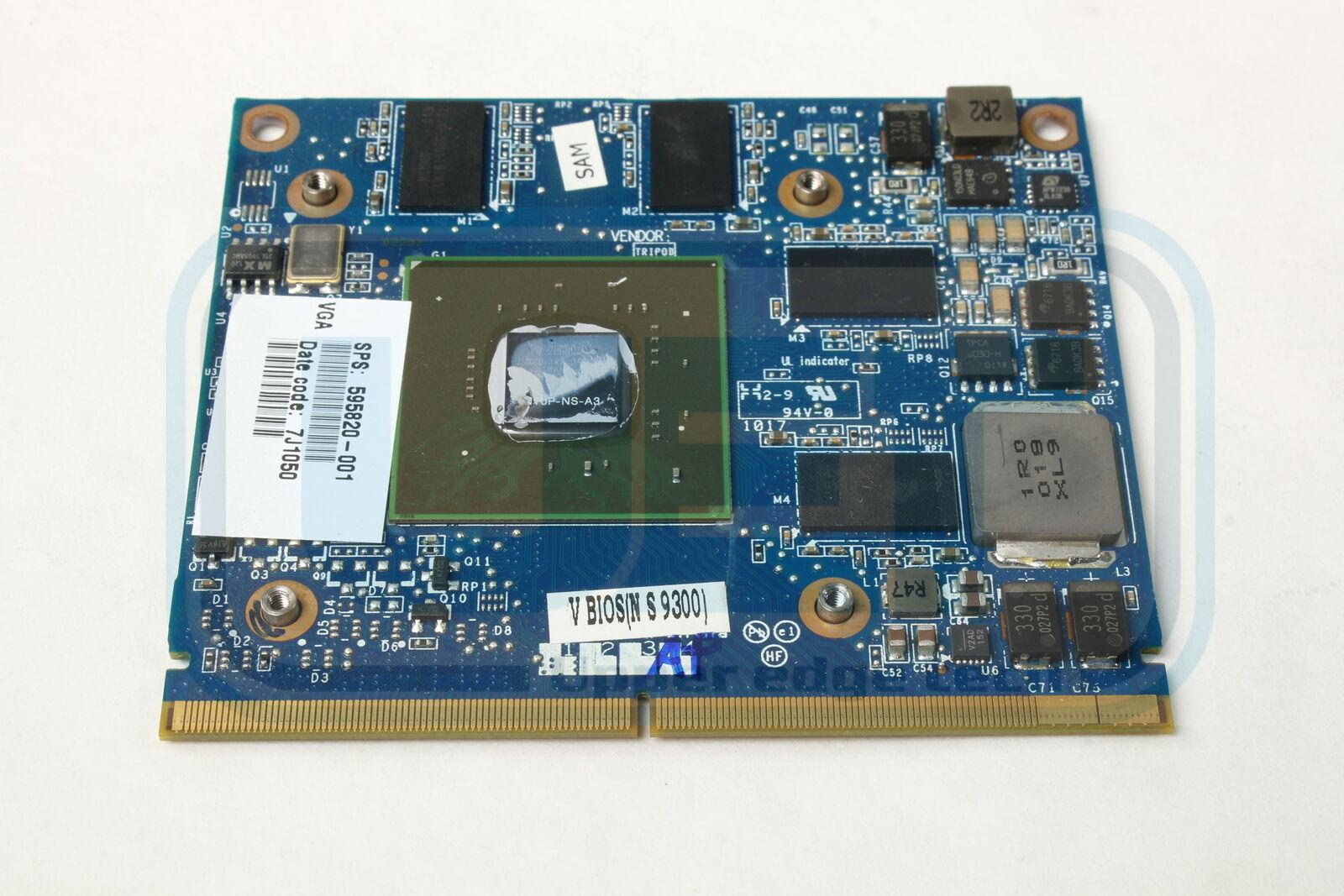 HP Elitebook 8540P Video Graphics Card GPU 595820-001 NVIDIA NVS 5100 1GB Tested