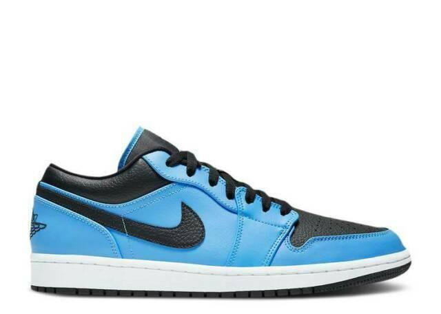 Size 10 - Jordan 1 Low University Blue Black