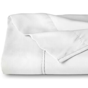 Flat-Top-Sheet-Soft-Breathable-Premium-Brushed-Ultra-Soft-Bed-Sheet-White