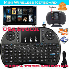 US Mini i8 Wireless Keyboard 2.4Ghz Touchpad for PC Android TV Kodi Amazon Box