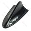 Car-Universal-Shark-Fin-Roof-Decorative-Dummy-Antenna-Aerial-Black thumbnail 1