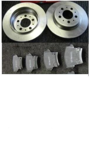 CHRYSLER 300C 3.0D 3.5 5.7 REAR BRAKE DISC BRAKE PADS SOLID REAR DISCS