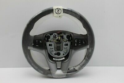 NEW OEM Chevy Chevrolet Cruze Steering Wheel Leather Cocoa Brown Buttons