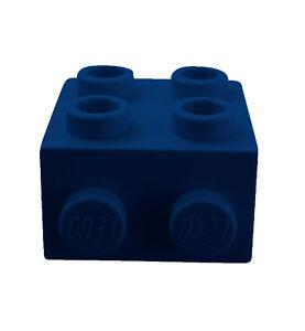 Lego-10x-Winkelplatte-1x2-2x2-in-dunkel-blau-44728-blaue-Konverterplatte-Neu