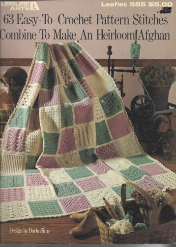 63 Easy To Crochet Stitches ~ Leisure Arts