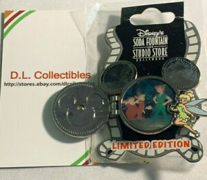 Disney-Peter-Pan-DSF-mickey-volt-LE-300-Tinker-Bell-Peter-Pan-Pin