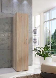 Easyroom Single 1 Door Wardrobe Cupboard With 6 Shelves