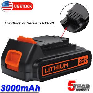 LCS20 LCS1620 MP 20V 3 Ah Lithium Akku Für Black /& Decker LBXR20 LB2X4020 LBX20