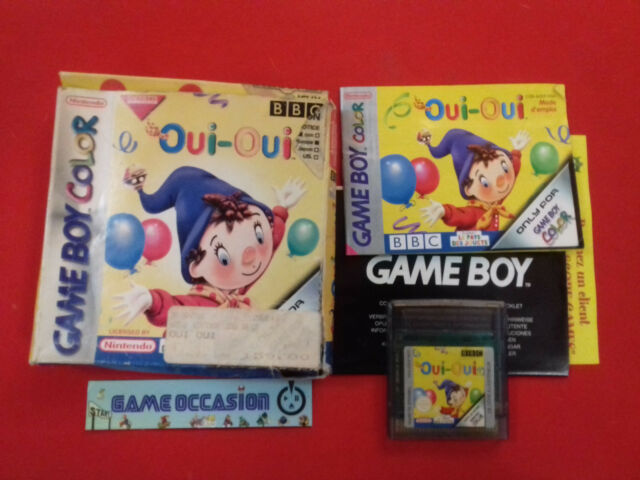 OUI OUI BBC GAMEBOY COLOR ADVANCE GBC GBA NINTENDO PAL COMPLET FR