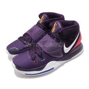 Detalles acerca de Nike Kyrie 6 EP Grand Morada Blanca Irving Vi Para  Hombre Zapatillas de baloncesto BQ4631-500- mostrar título original