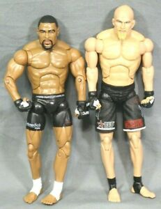 UFC-Jakks-Pacific-2009-8-034-Inch-Action-Figures-Keith-Jardine-amp-Rashad-Evans