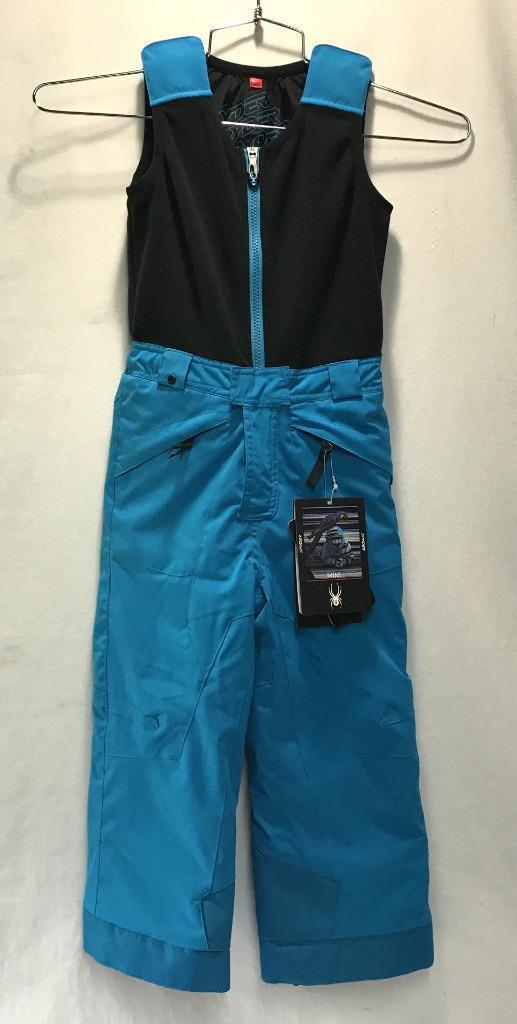 Spyder Boys Kids Mini Expedition Snow Ski Winter Pants bluee Kid Size 3 NEW