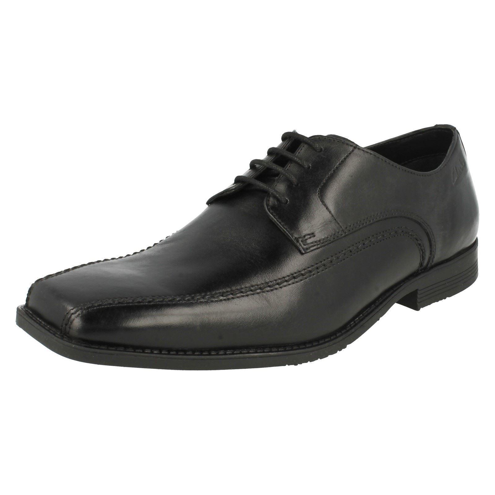 Herren Clarks G PASSFORM zum Schnüren Schuhe - Baker Spitze