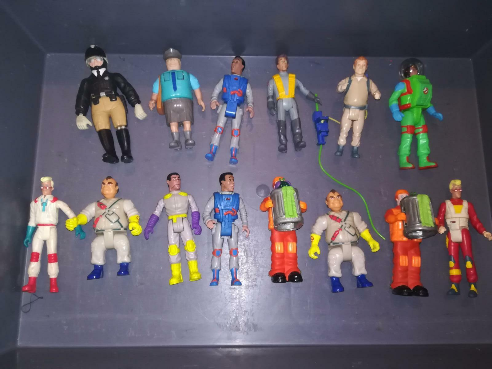 LOTTO 14 REAL GHOSTBUSTERS ACTION FIGURE  PERSONAGGI KENNER ENTRA VINTAGE