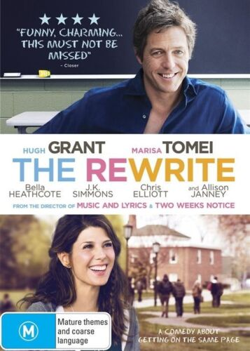 1 of 1 - The Rewrite (DVD, 2015)