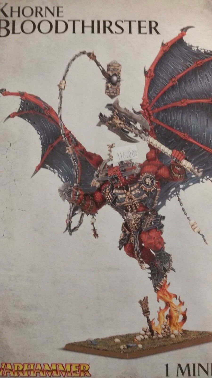 Warhammer 40K & Age Of Sigmar, WRATH OF KHORNE  BLOODTHIRSTER  Greater Daemon