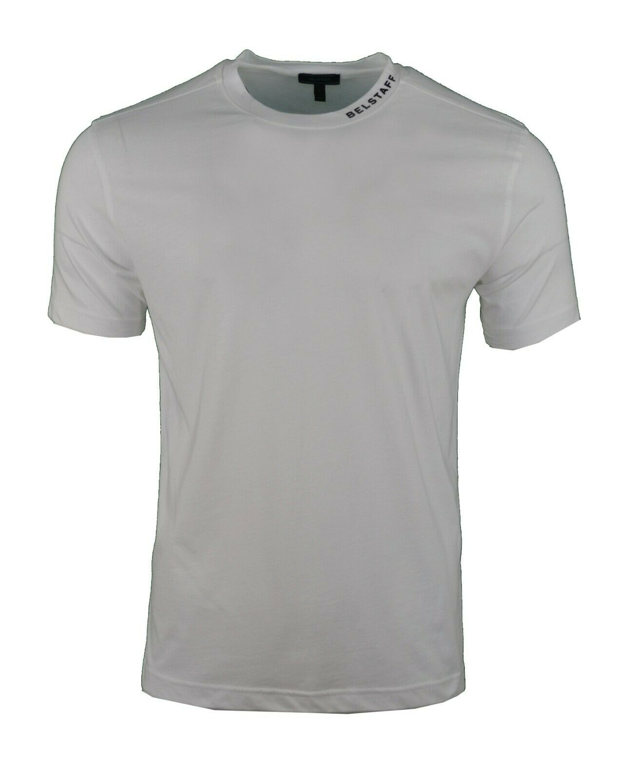 BELSTAFF LONG SLEEVE T-SHIRT TOP THIN SWEATSHIRT RED /& WHITE LOGO PRINT RARE