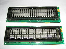 Display VFD DUAL FUTABA M202MD08A  IBM P/N 41K6814 20x2 FRU 73G1106