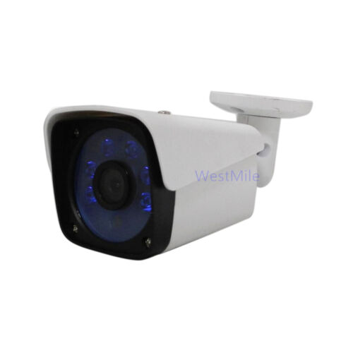 WM UC 3.6MM 2.0MP 1080P POE IP Camera Network Onvif P2P Outdoor 6 Blue IR Night