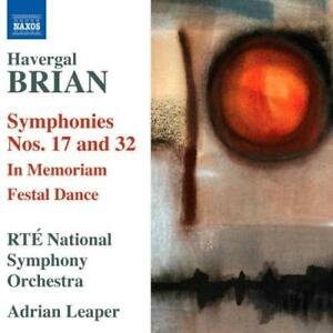 BRIAN-HAVERGAL-SYMPHONIES-NOS-17-amp-32-NEW-CD