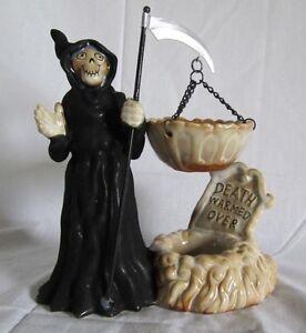 Yankee-Candle-Hanging-Tart-Wax-Burner-Warmer-Grim-Reaper-Death-Warmed-Over-NEW