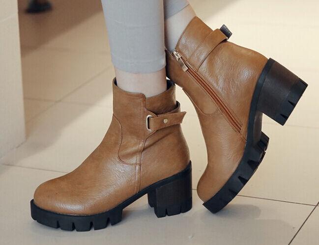 Booties women's boots high heel cm 6.5 beige warm comfortable like leather 9011