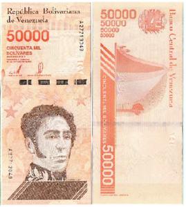 Venezuela 50000 Bolivares 2019 UNC Lemberg-Zp